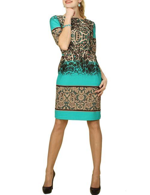 Mankato | Женское Зелёное Платье
