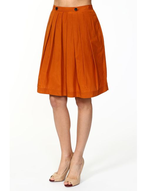 Burberry | Женская Оранжевая Юбка