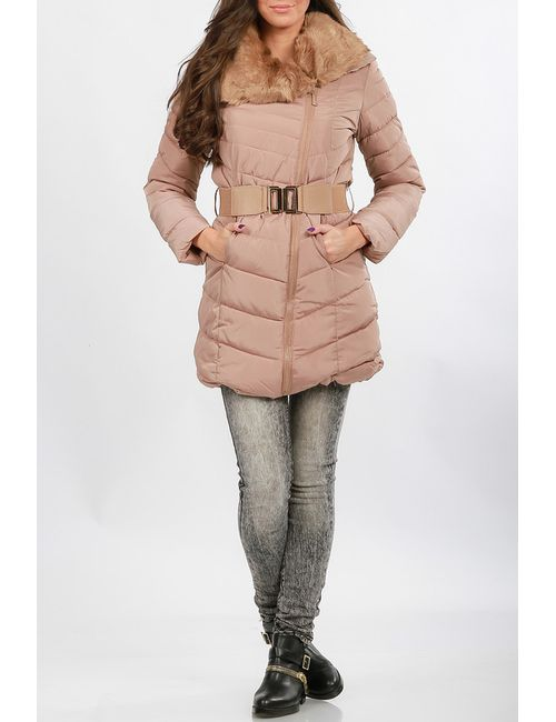 Glamour | Женская Бежевая Куртка