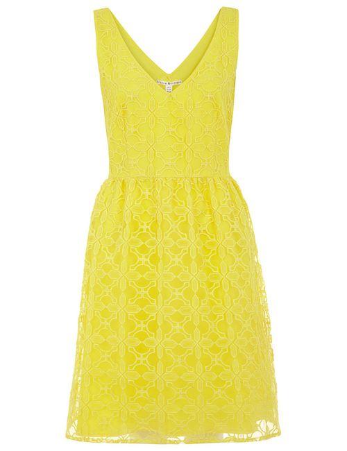 Uttam Boutique | Женское Жёлтое Платье