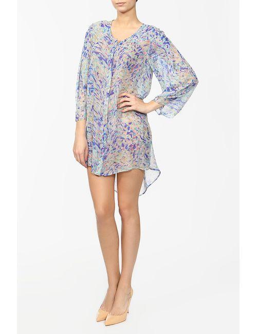 Saloni | Женское Многоцветное Платье