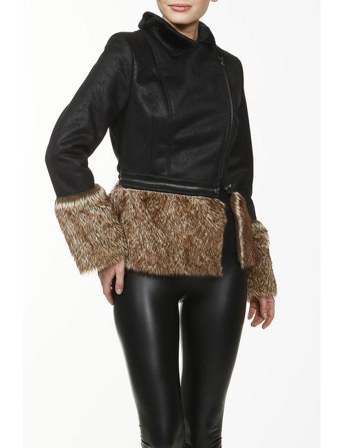 La Reine Blanche | Женская Черный Куртка