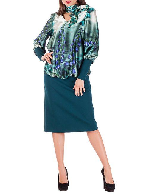 Mannon | Женское Зелёное Платье