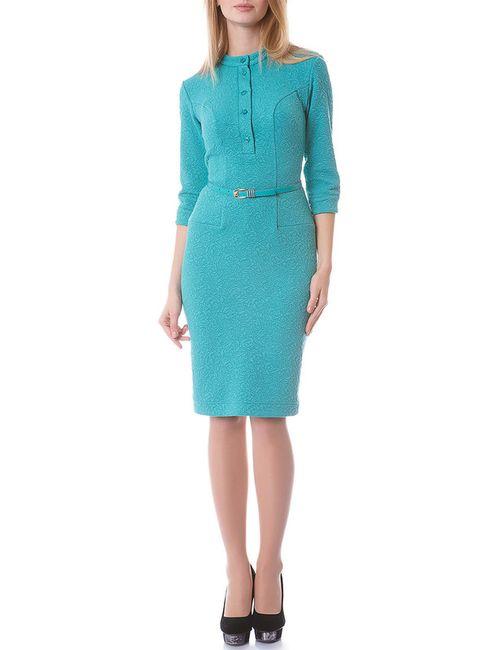 OKS   Женское Голубое Платье