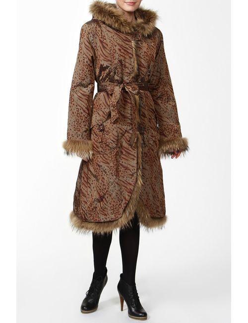 Фарт Фаворита | Женское Коричневое Пальто