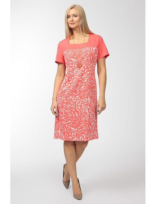 Biratti | Женское Красное Платье С Кулоном