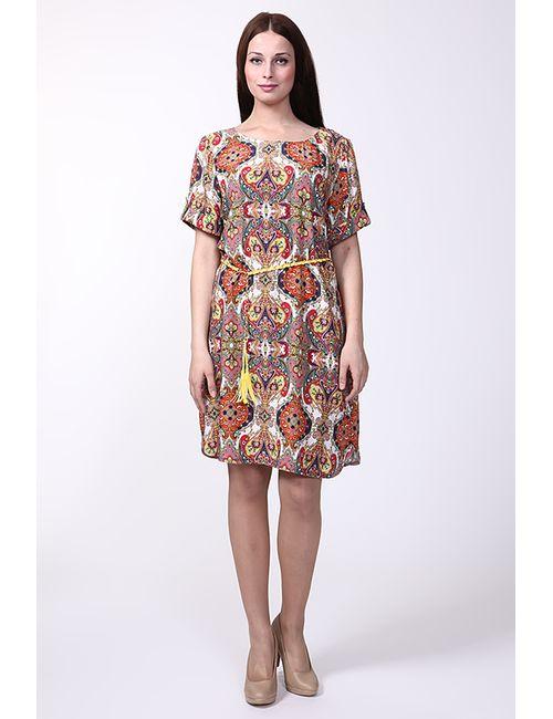 Miss Istanbul | Женское Коричневое Платье С Ремнем