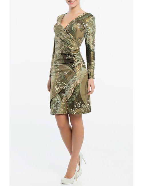Monamod | Женское Зелёное Платье