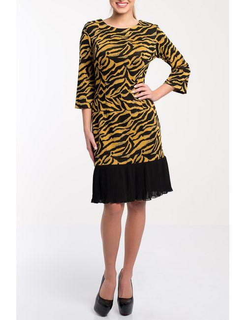Monamod | Женское Жёлтое Платье