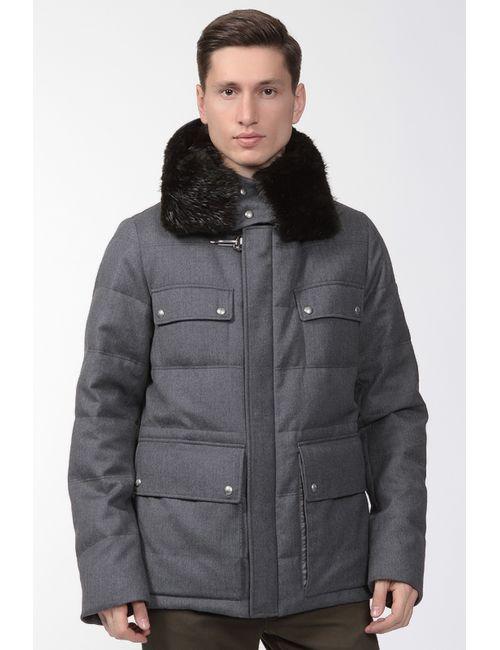 Moncler | Мужская Серая Куртка
