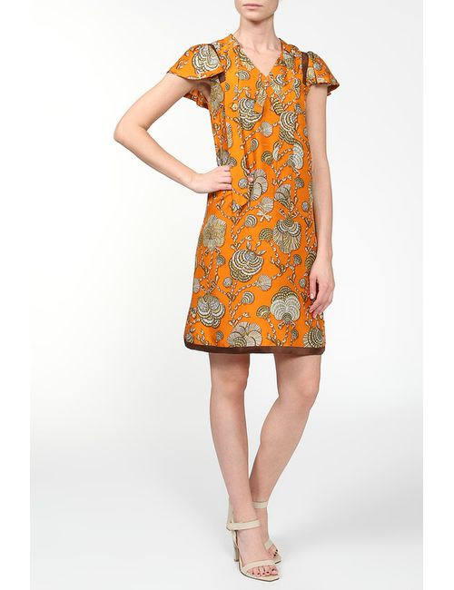 Gucci | Женское Оранжевое Платье