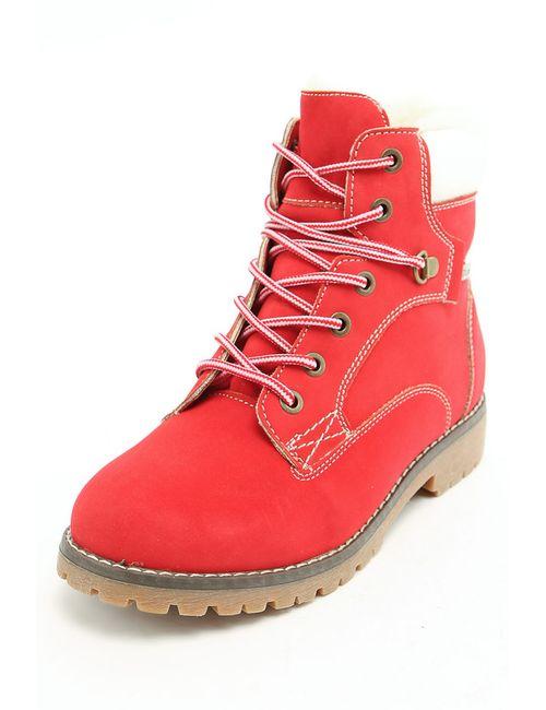 Keddo | Женские Красные Ботинки