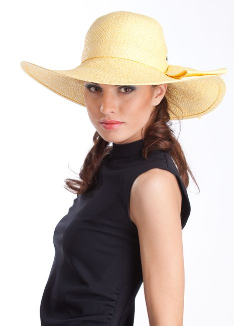 Tonak | Женская Жёлтая Шляпа