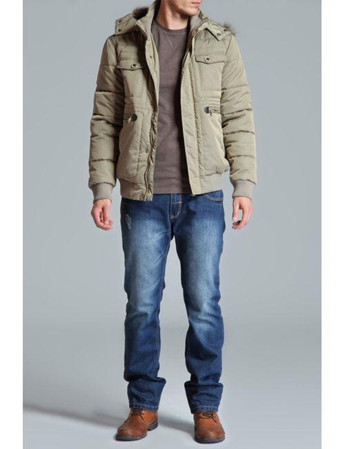 Top Secret   Мужская Бежевая Куртка