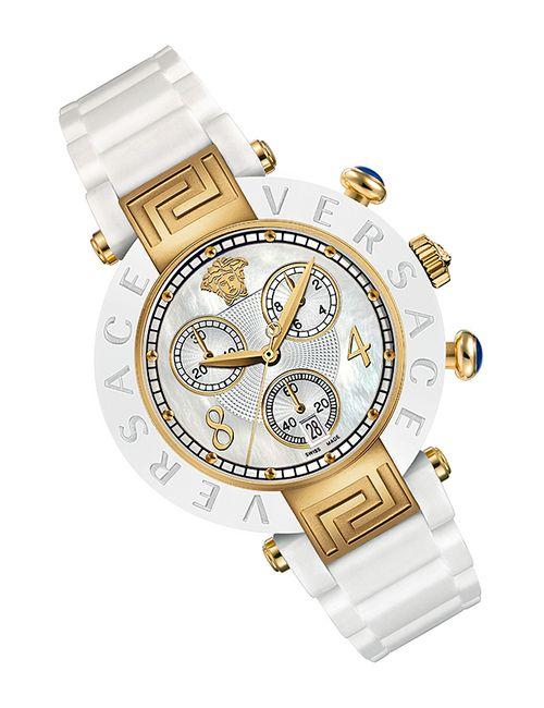 Versace | Женские Белые Часы Наручные