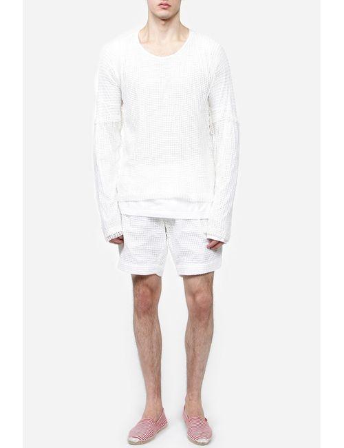 Dolce & Gabbana | Мужской Белый Пуловер Джерси