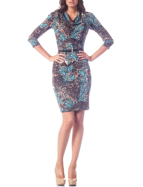 OKS | Женское Бежевое Платье