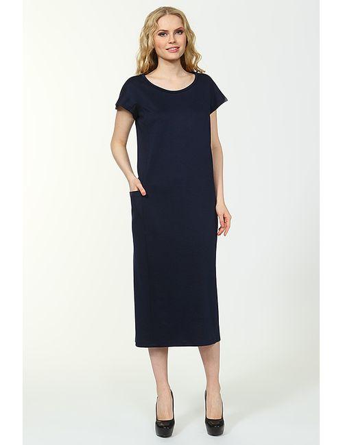 Alina Assi | Женское Синее Платье Карман