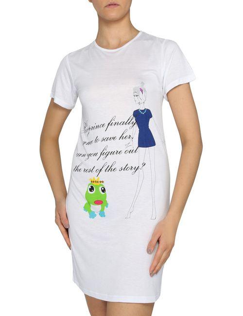 La Perla | Женская Белая Ночная Рубашка