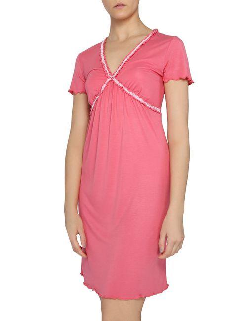 La Perla   Женская Розовая Ночная Рубашка