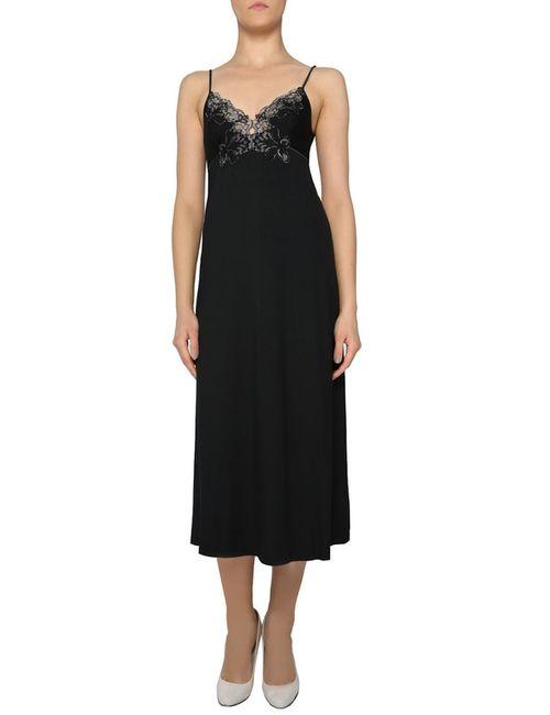 La Perla   Женская Чёрная Ночная Рубашка
