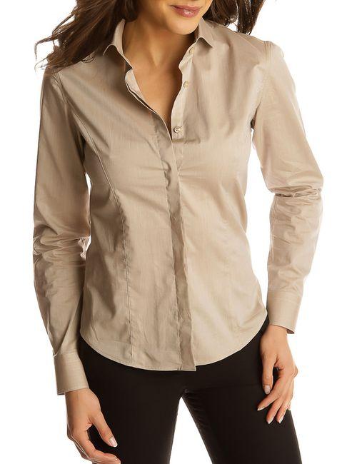 Gazoil   Женская Бежевая Рубашка