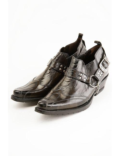 Etor   Мужские Чёрные Туфли