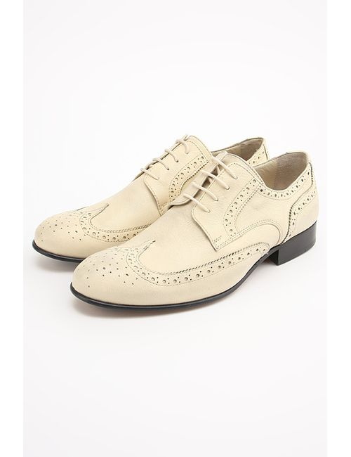 Etor | Мужские Белые Туфли
