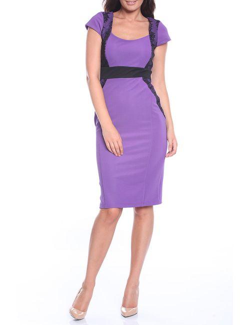 Emma Monti | Женское Фиолетовое Платье