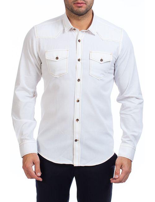 BIRIZ   Мужская Белая Рубашка