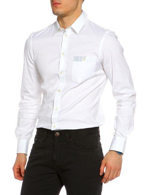 Emporio Armani | Мужская Белая Рубашка