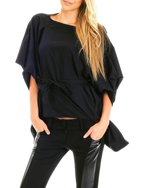 Berry Couture | Женская Синяя Блуза