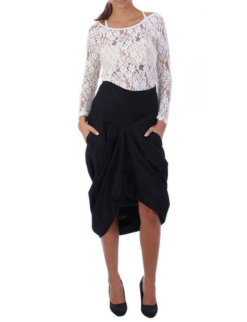 Berry Couture   Женская Чёрная Юбка