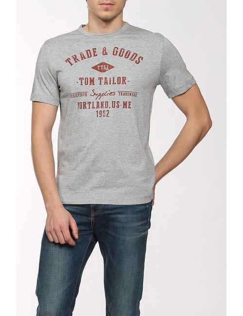 TOM TAILOR | Мужская Многоцветная Футболка