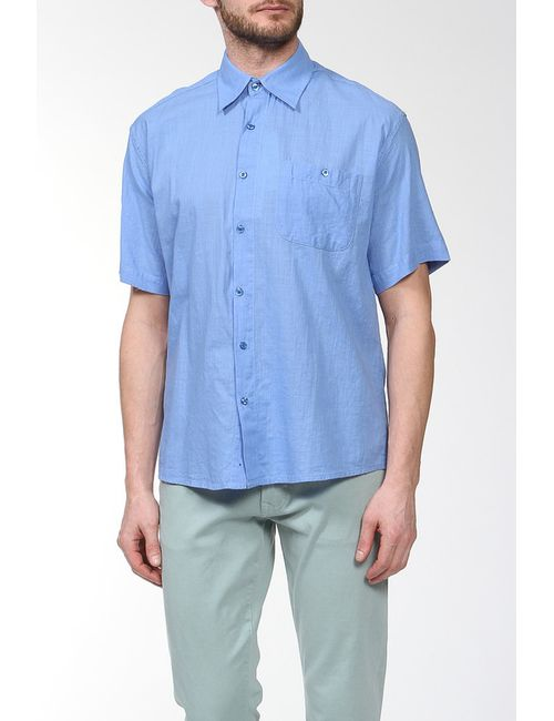 Sanbal | Мужская Голуба Сорочка