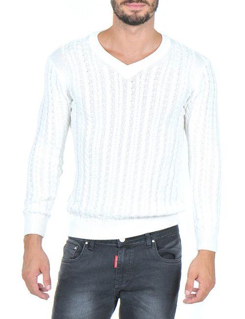 Giorgio Di Mare | Мужской Белый Пуловер