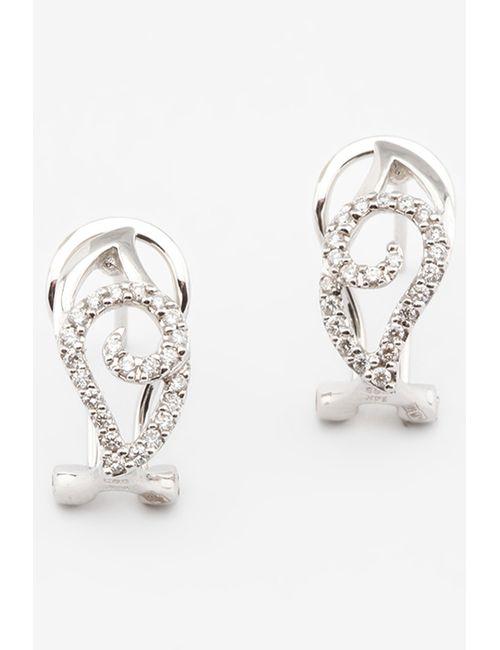 Magic Diamonds | Женские Белые Серьги