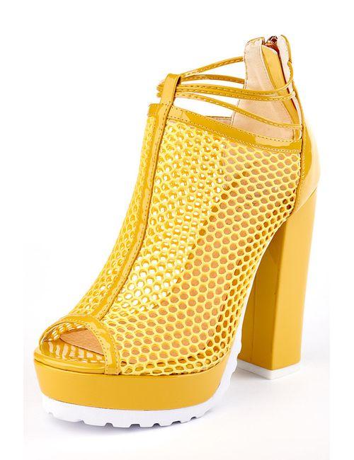 Carmelita | Женские Жёлтые Туфли