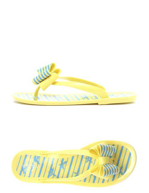 Mon Ami | Женские Жёлтые Босоножки