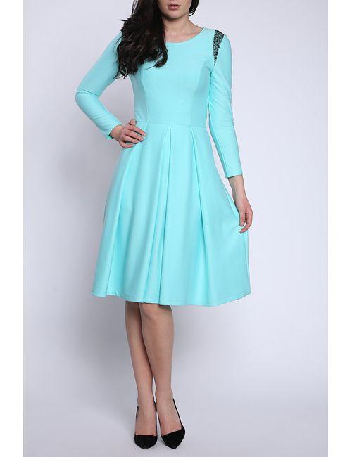 Collezione Di Ines | Женское Голубое Платье