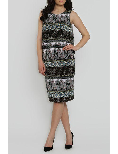 Collezione Di Ines | Женское Многоцветное Платье