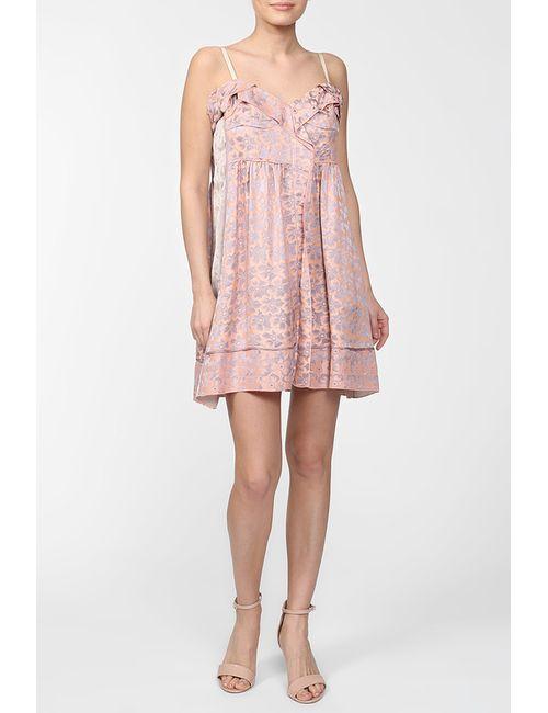 Marc Jacobs | Женское Розовое Платье