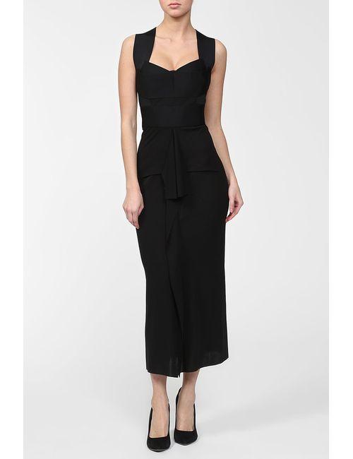 Roland Mouret | Женское Чёрное Платье