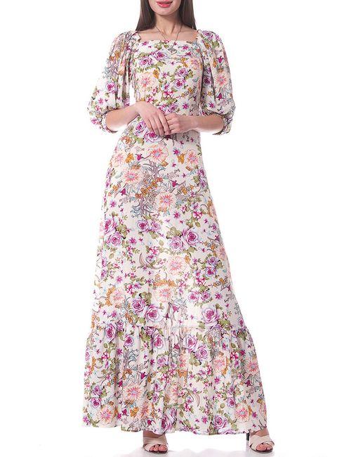 OKS | Женское Многоцветное Платье