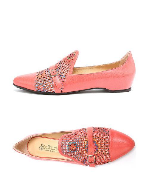 Spring Way | Женские Красные Туфли