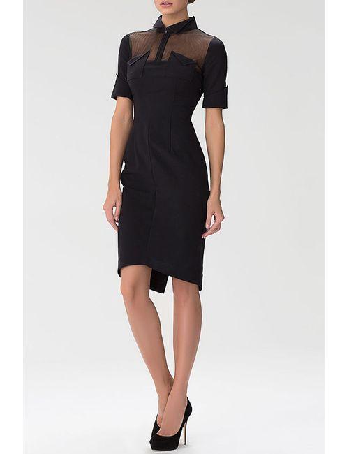 Indigira | Женское Чёрное Платье