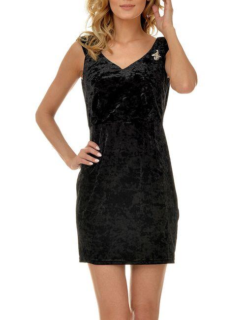 Selfie   Женское Черный Платье