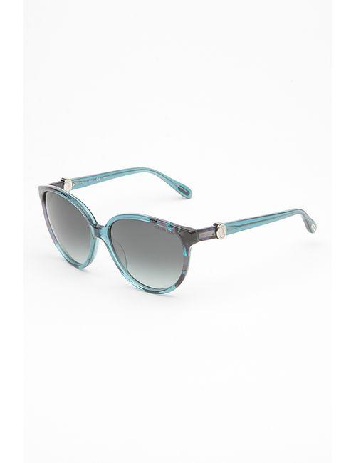 Trussardi | Женские Голубы Очки Солнцезащитные