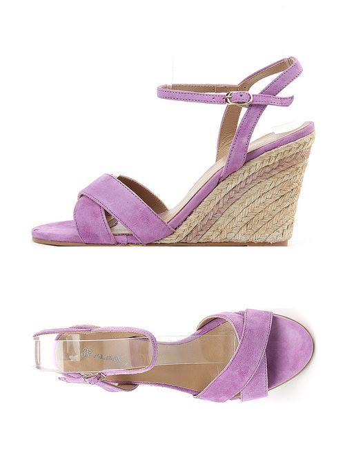 Alba | Женские Фиолетовые Туфли Летние Открытые