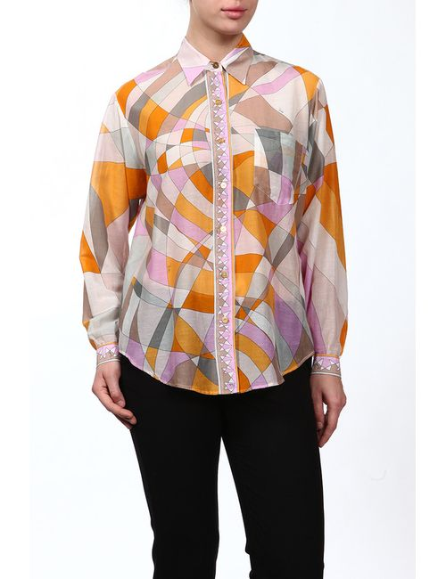 Emilio Pucci | Женская Жёлтая Блуза